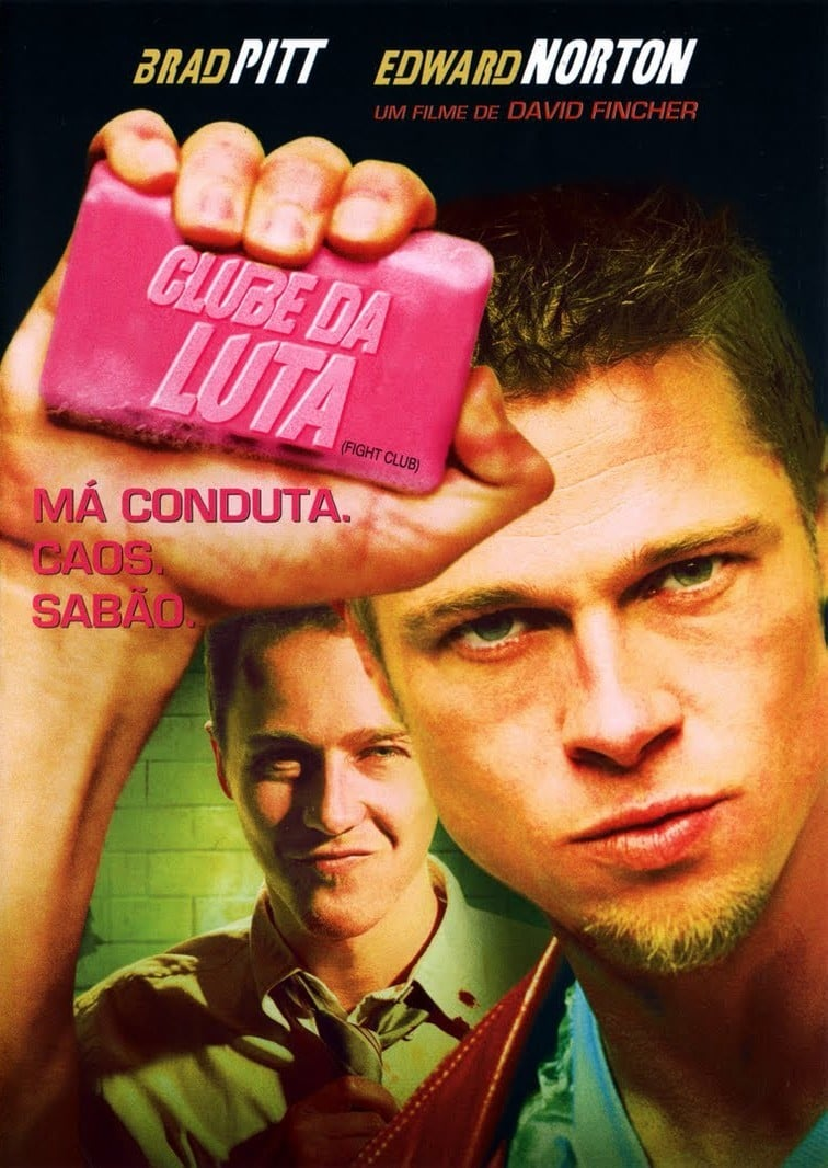 "Poster for the movie ""Clube de Combate"""