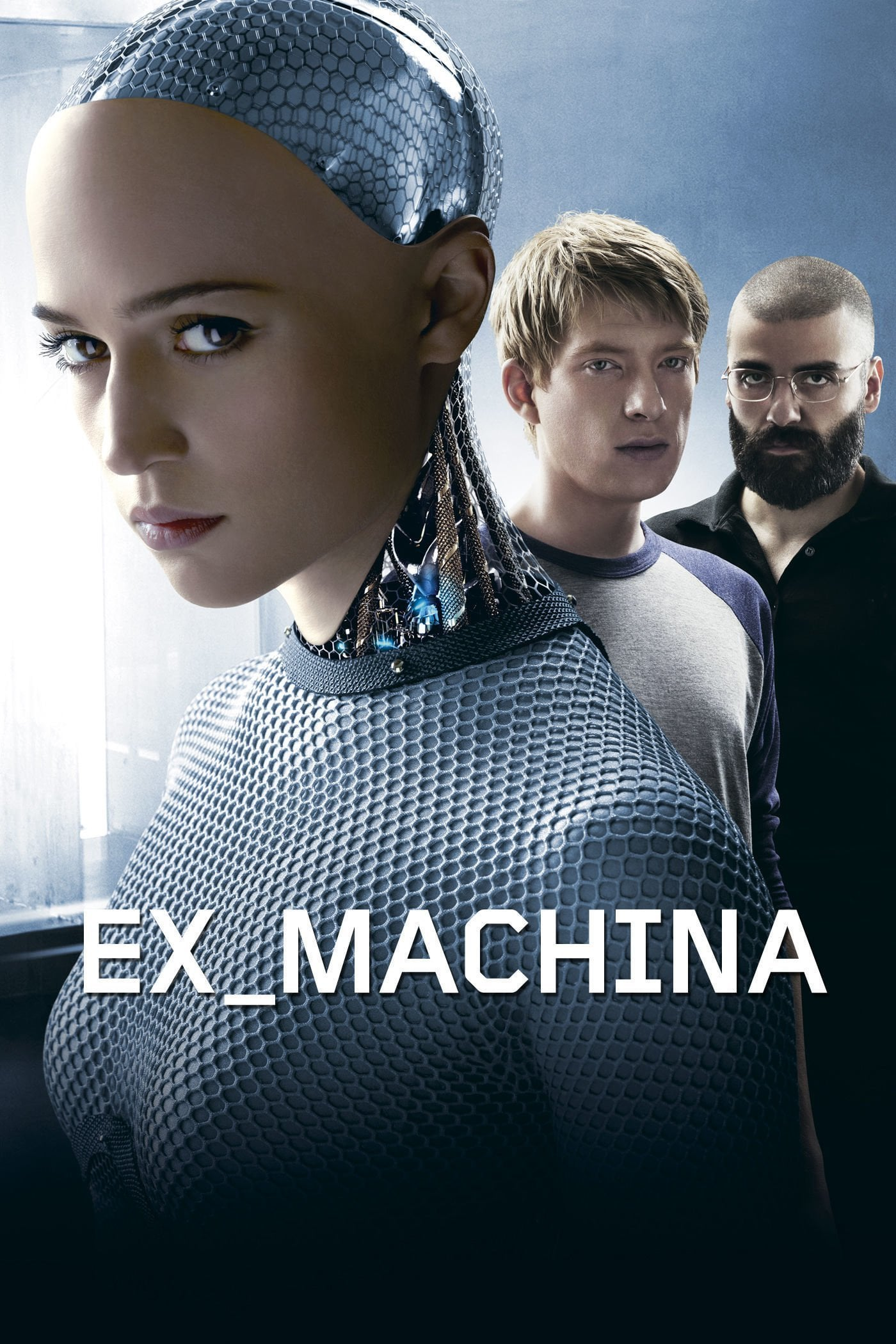 "Poster for the movie ""Ex Machina: Instinto Artificial"""
