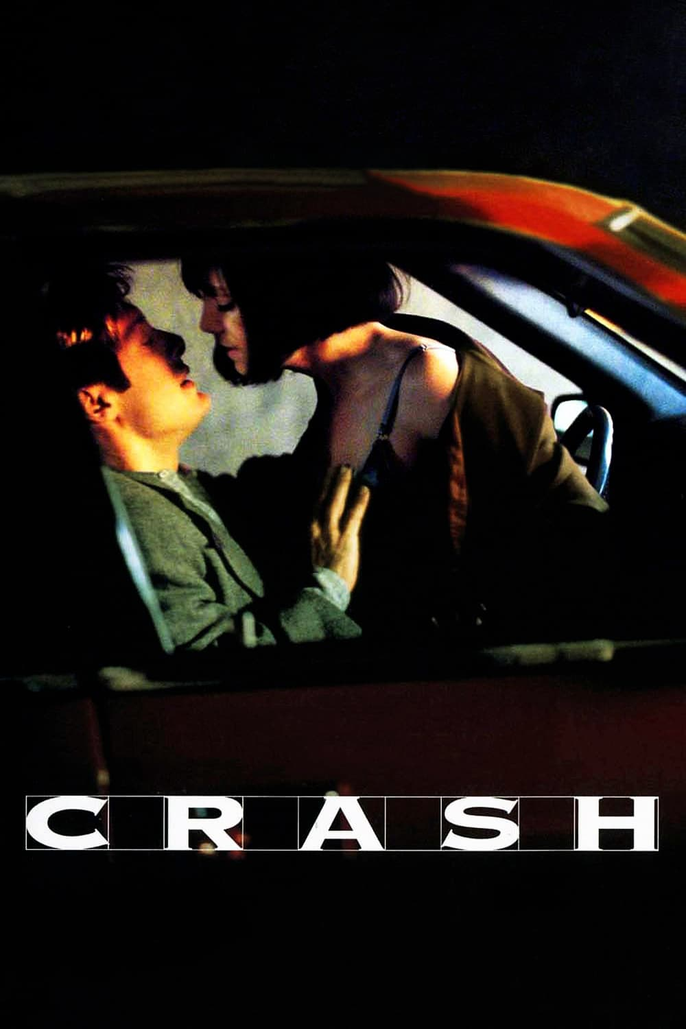 "Poster for the movie ""Crash - Estranhos Prazeres"""