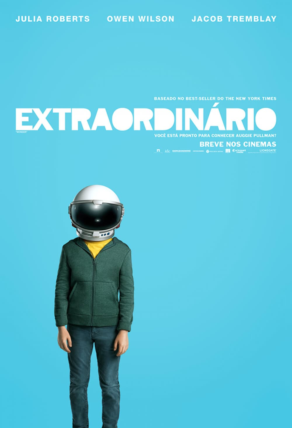 "Poster for the movie ""Wonder - Encantador"""