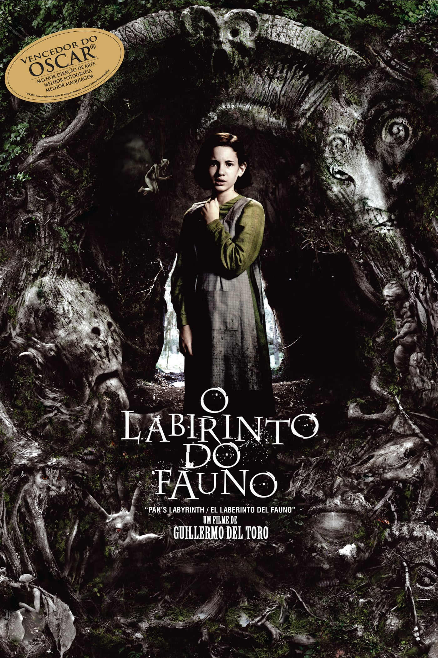 "Poster for the movie ""O Labirinto do Fauno"""