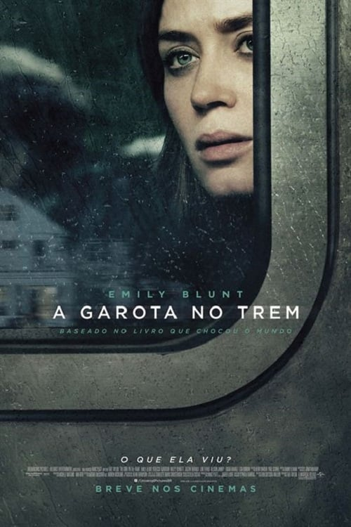 "Poster for the movie ""A Rapariga no Comboio"""