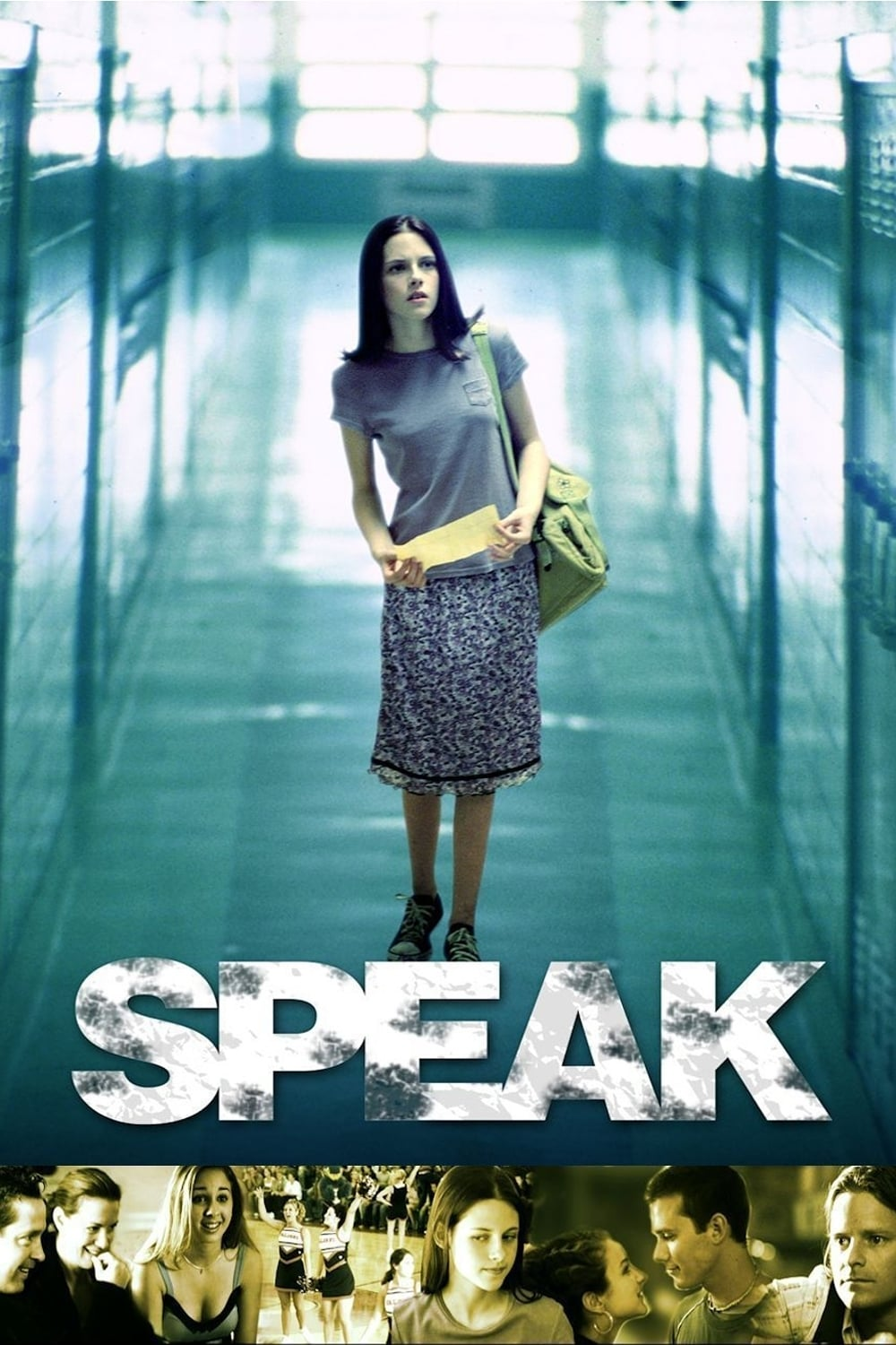 "Poster for the movie ""Speak"""