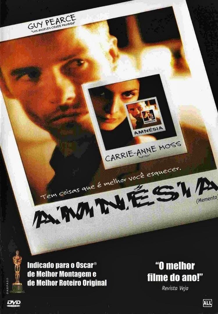"Poster for the movie ""Amnésia"""