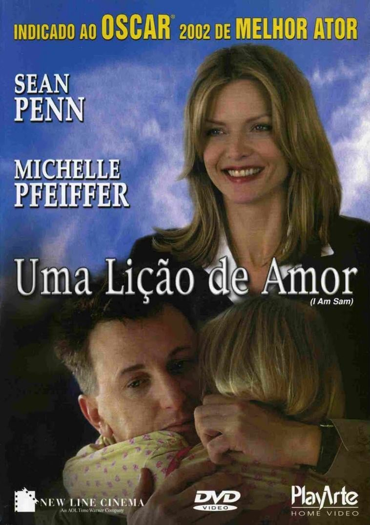 "Poster for the movie ""Uma Lição de Amor"""