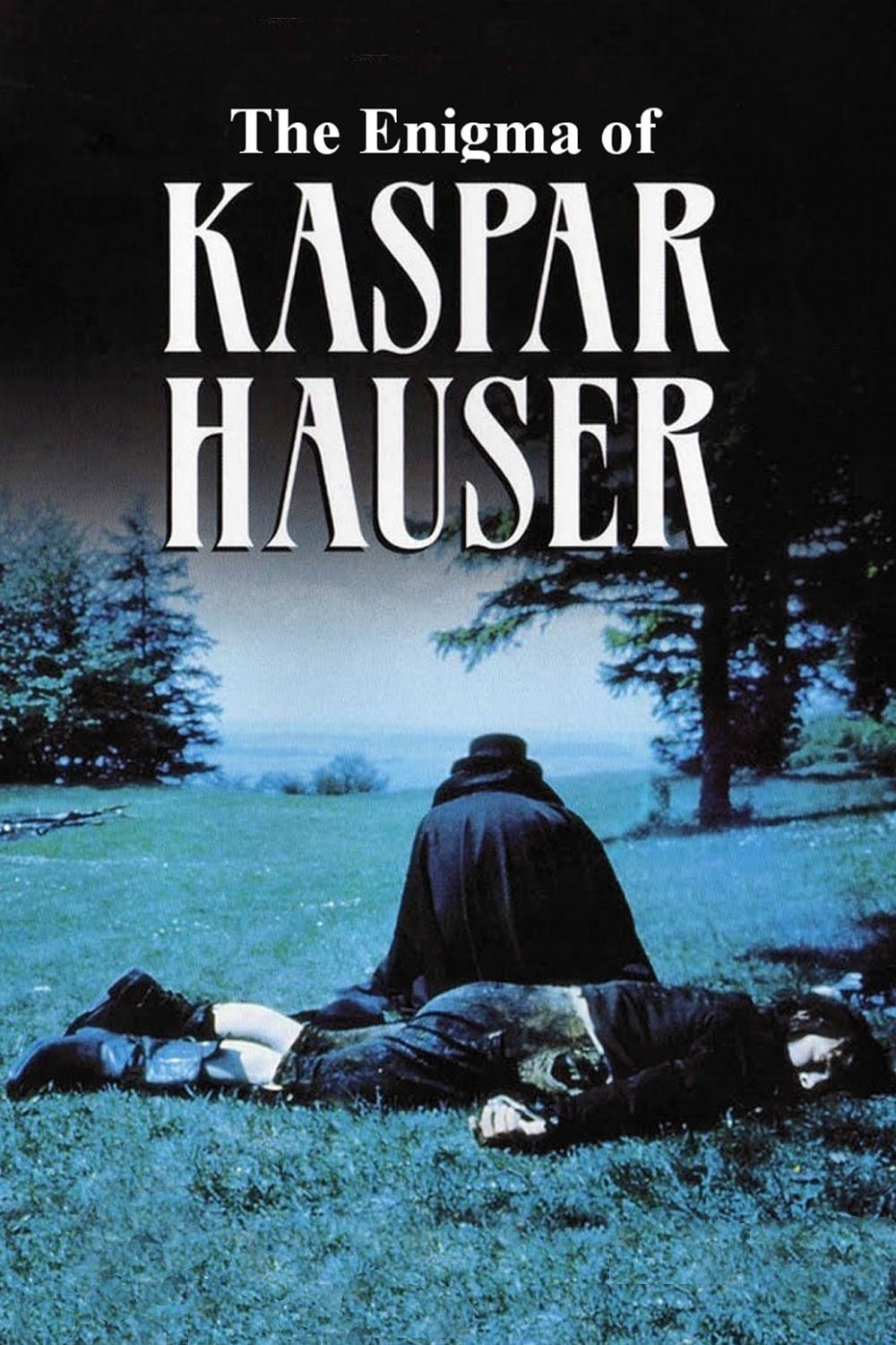 "Poster for the movie ""O Enigma de Kaspar Hauser"""