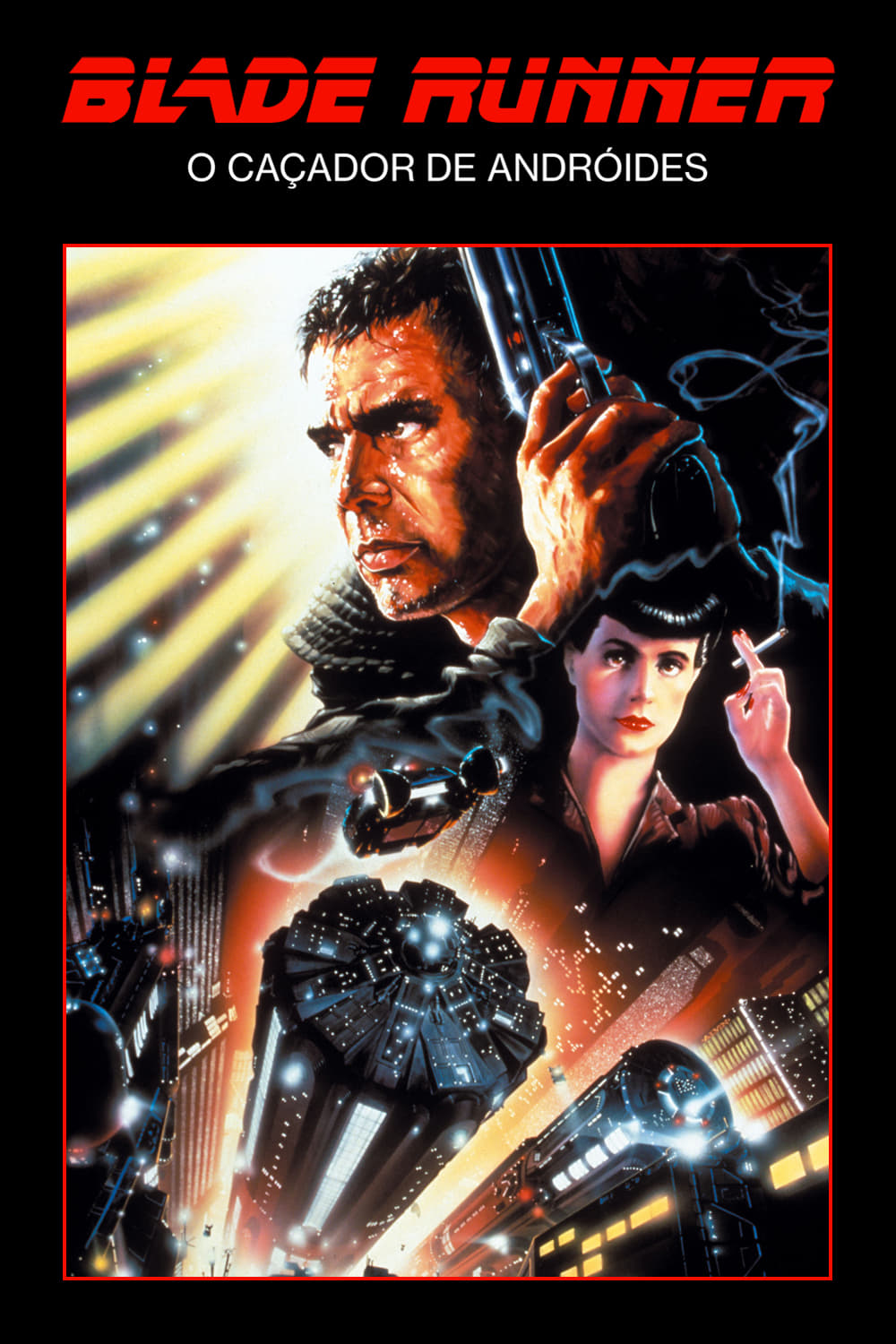 "Poster for the movie ""Blade Runner: Perigo Iminente"""