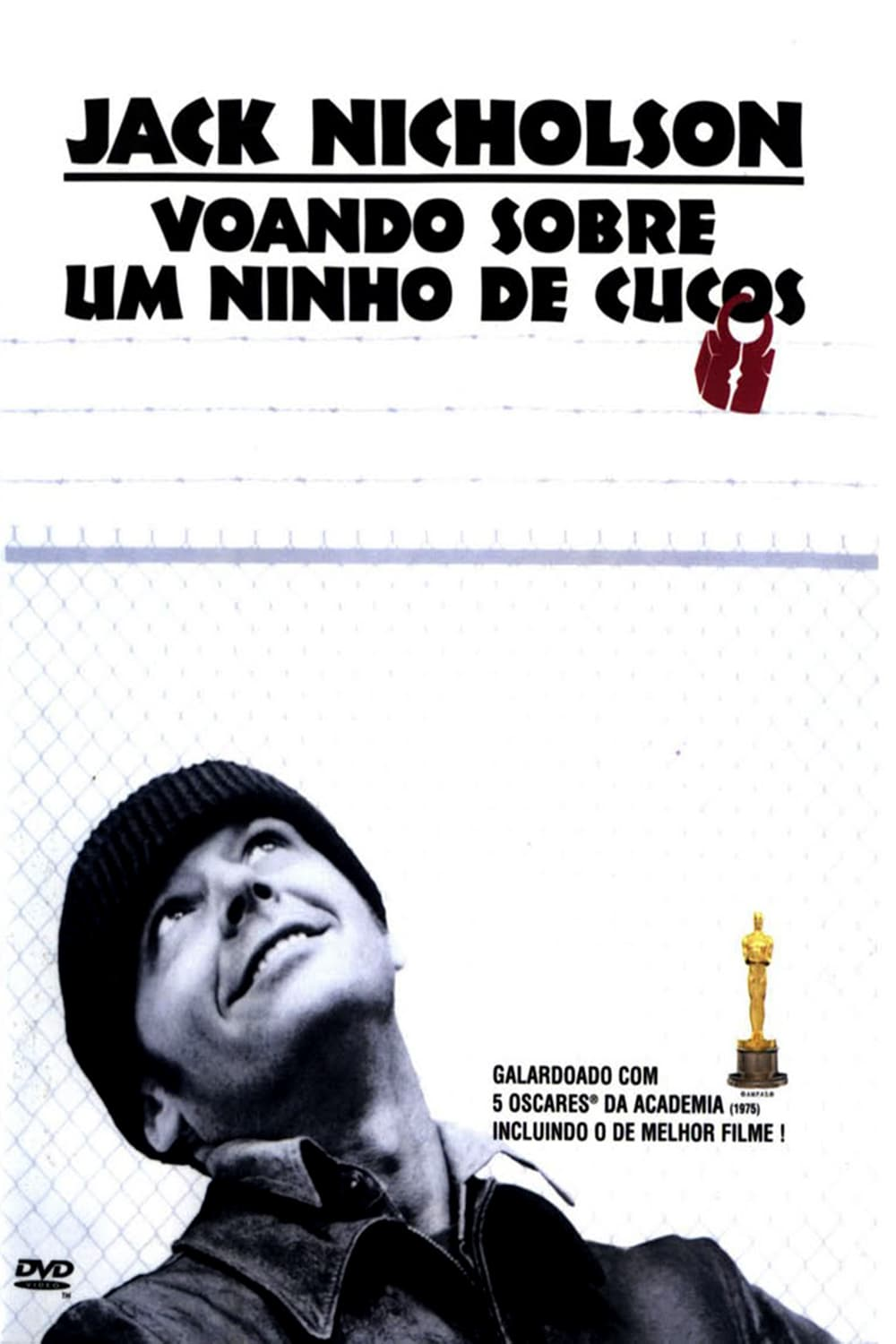 "Poster for the movie ""Voando Sobre Um Ninho de Cucos"""