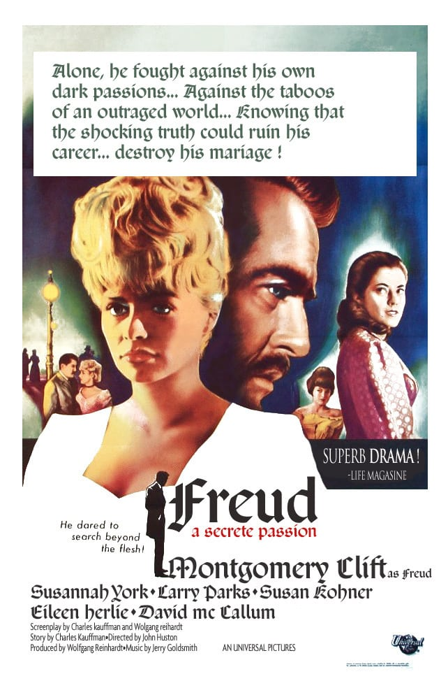 "Poster for the movie ""Freud: The Secret Passion"""