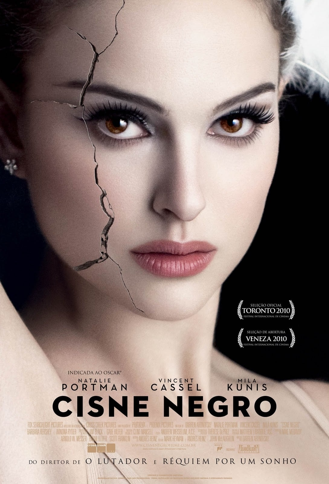 "Poster for the movie ""Cisne Negro"""