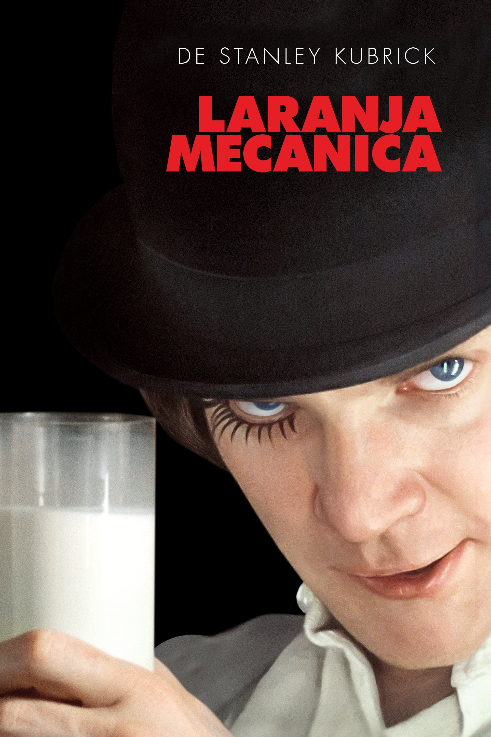 "Poster for the movie ""Laranja Mecânica"""