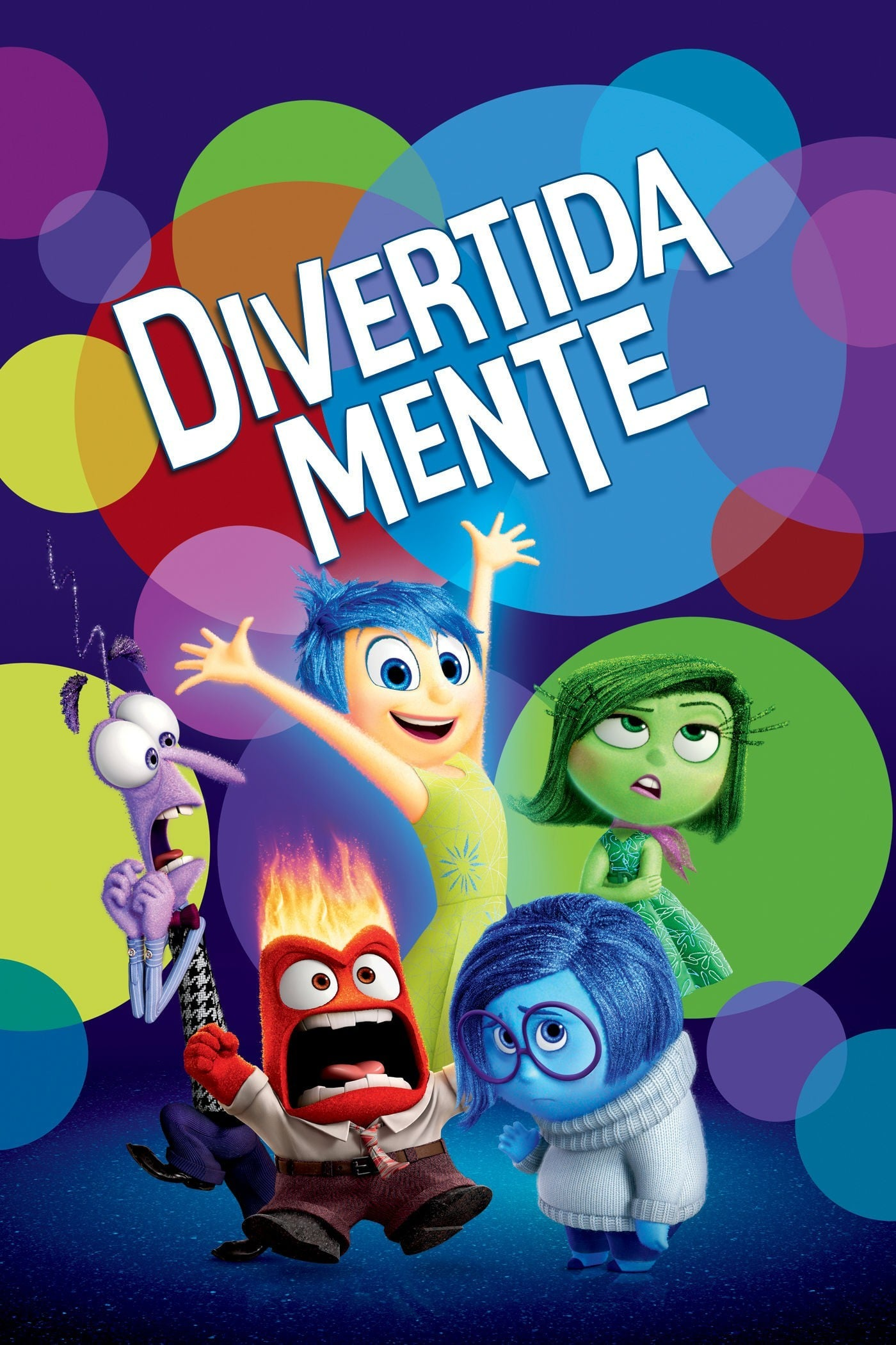 "Poster for the movie ""Divertida-Mente"""