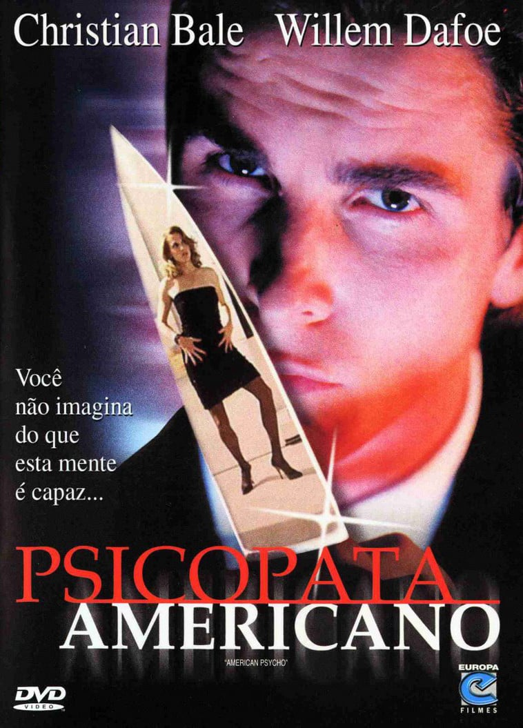 "Poster for the movie ""Psicopata Americano"""