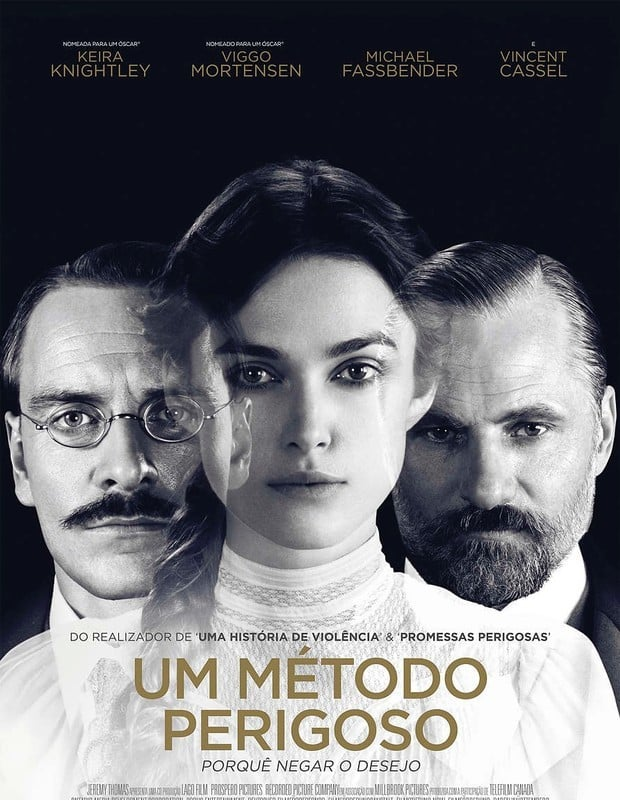 "Poster for the movie ""Um Método Perigoso"""