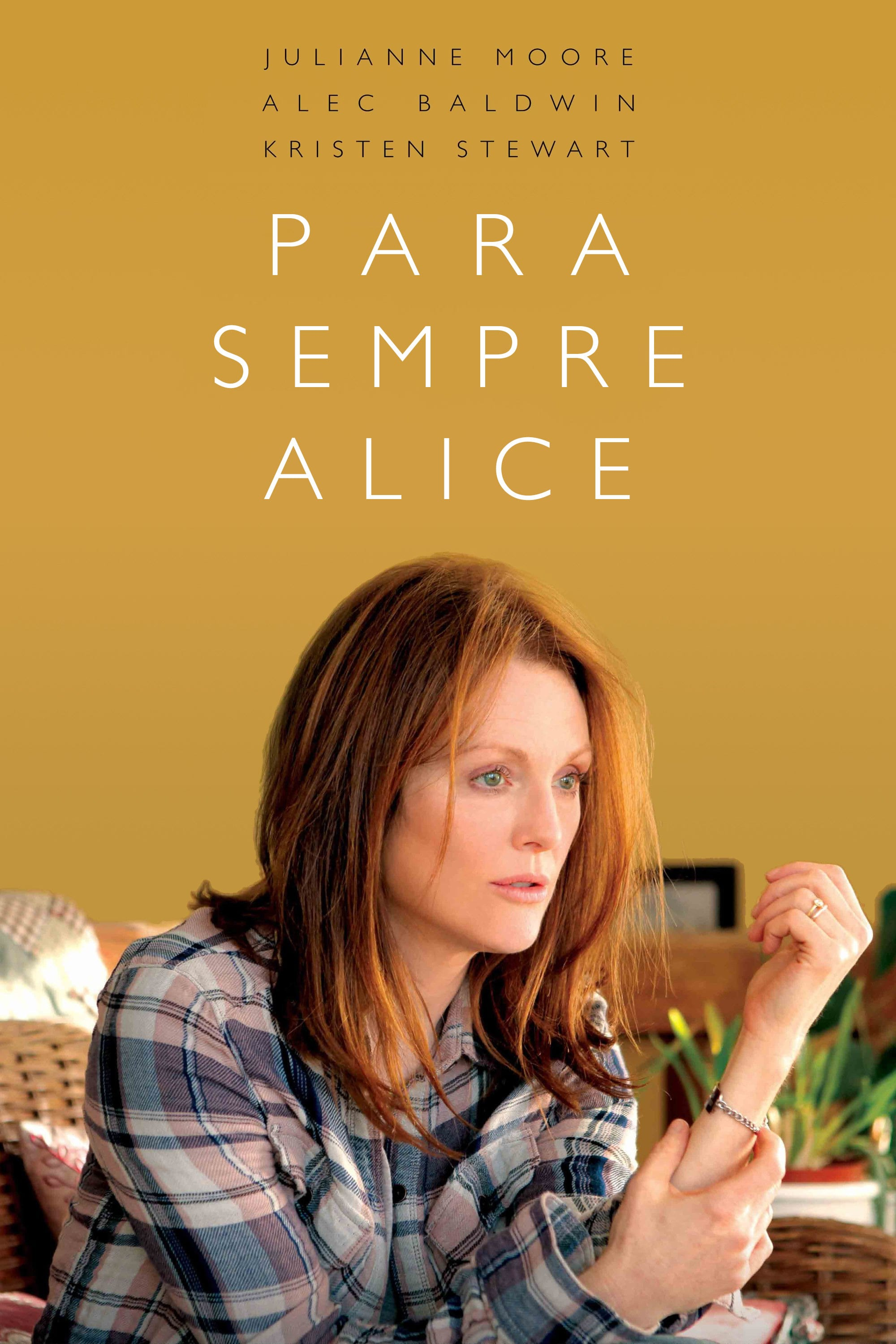 "Poster for the movie ""Para Sempre Alice"""