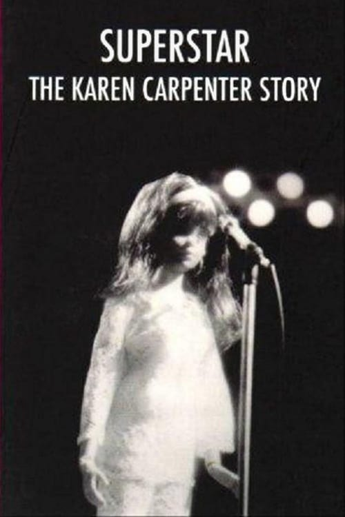 "Poster for the movie ""Superstar: The Karen Carpenter Story"""