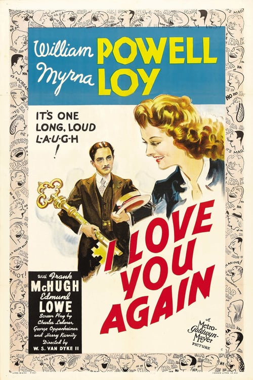 "Poster for the movie ""I Love You Again"""