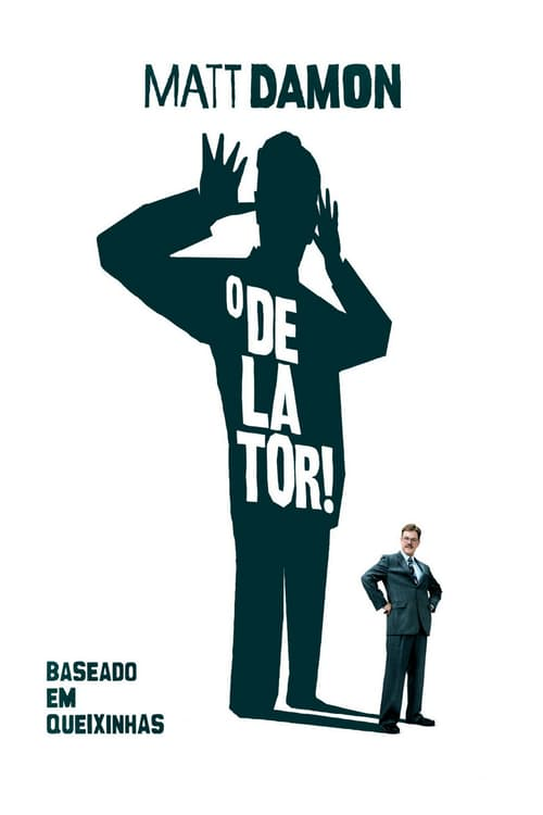 "Poster for the movie ""O Delator!"""