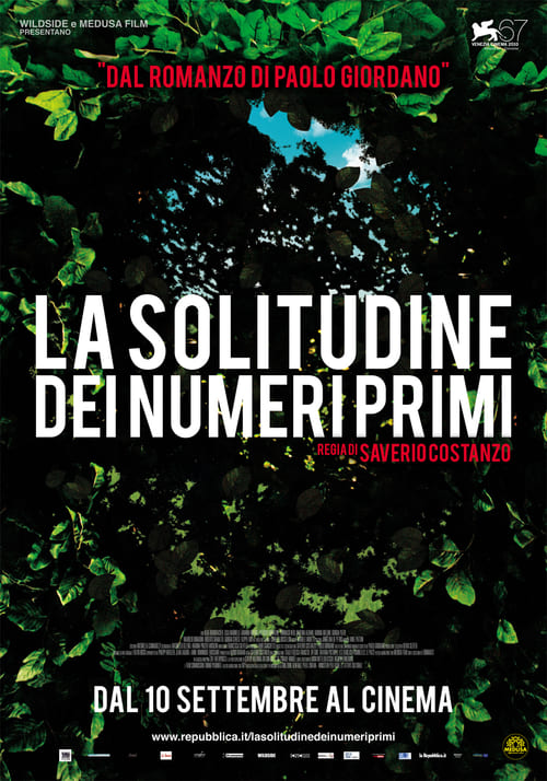 "Poster for the movie ""The Solitude of Prime Numbers"""