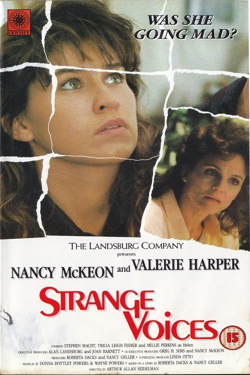 "Poster for the movie ""Strange Voices"""