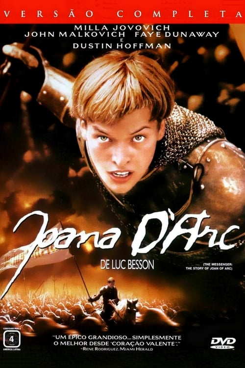 "Poster for the movie ""Joana d'Arc"""