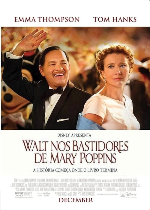 "Poster for the movie ""Walt nos Bastidores de Mary Poppins"""