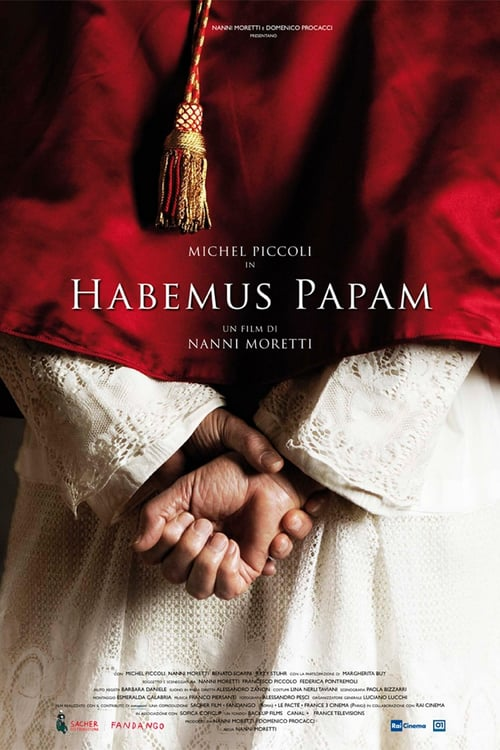 "Poster for the movie ""Habemus Papam - Temos Papa"""