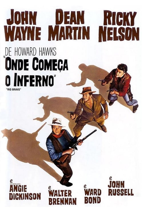 "Poster for the movie ""Onde Começa o Inferno"""