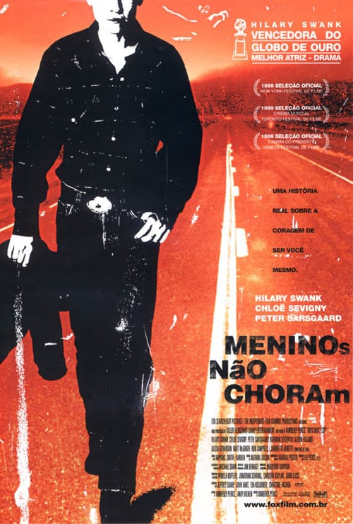 "Poster for the movie ""Meninos Não Choram"""