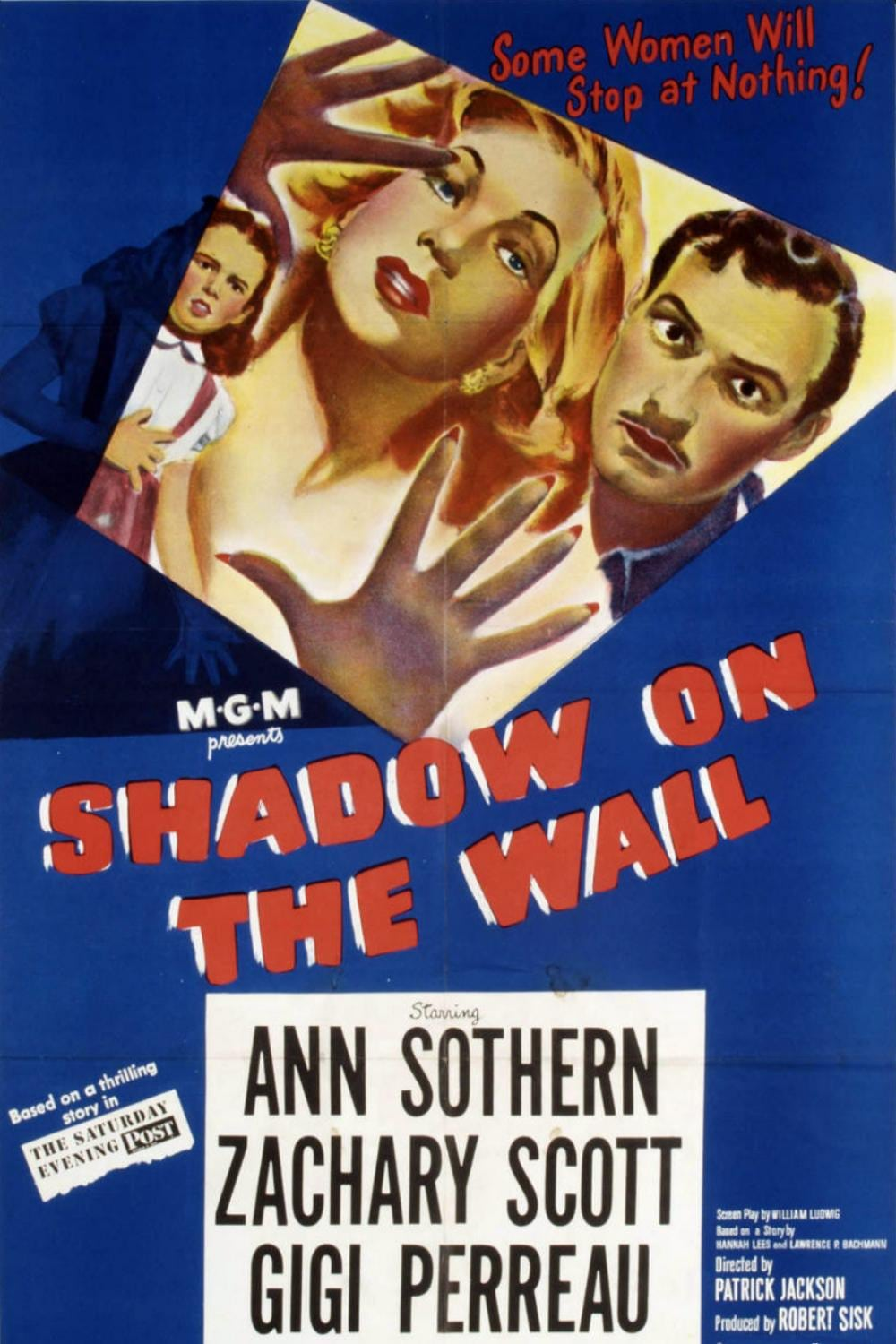"Poster for the movie ""Shadow on the Wall"""