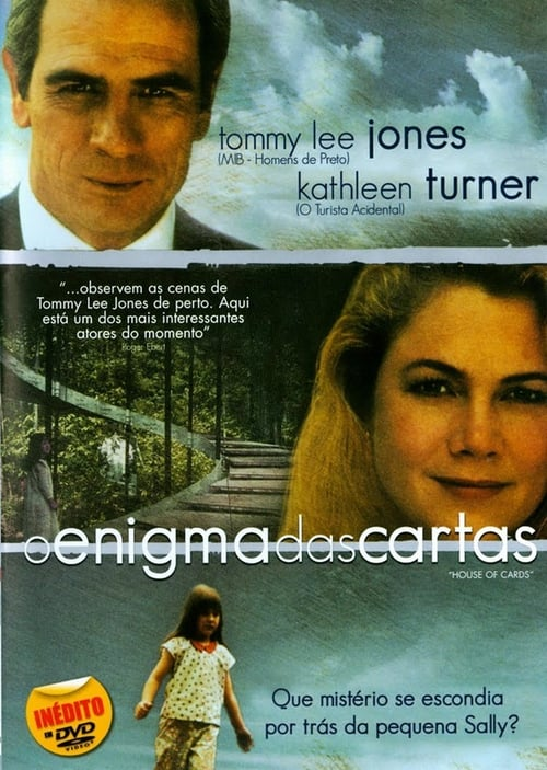 "Poster for the movie ""O Enigma das Cartas"""