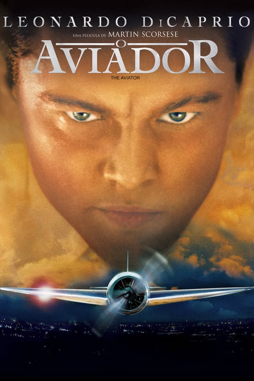 "Poster for the movie ""O Aviador"""