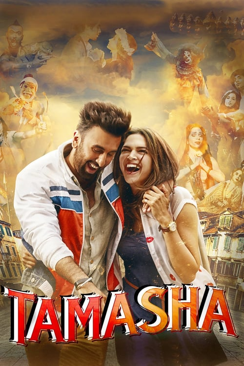 "Poster for the movie ""Tamasha"""
