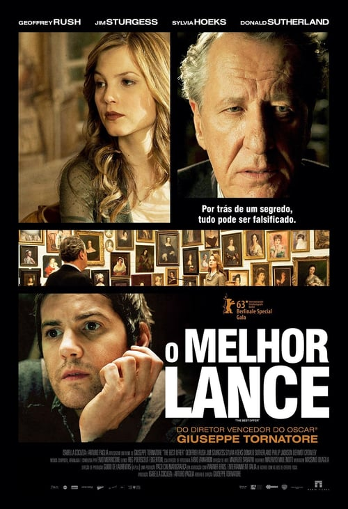 "Poster for the movie ""A Melhor Oferta"""