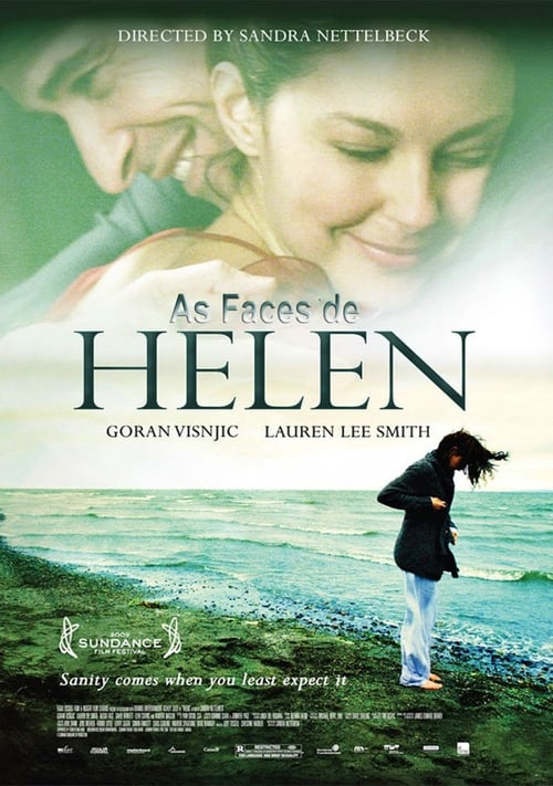 "Poster for the movie ""As Faces de Helen"""