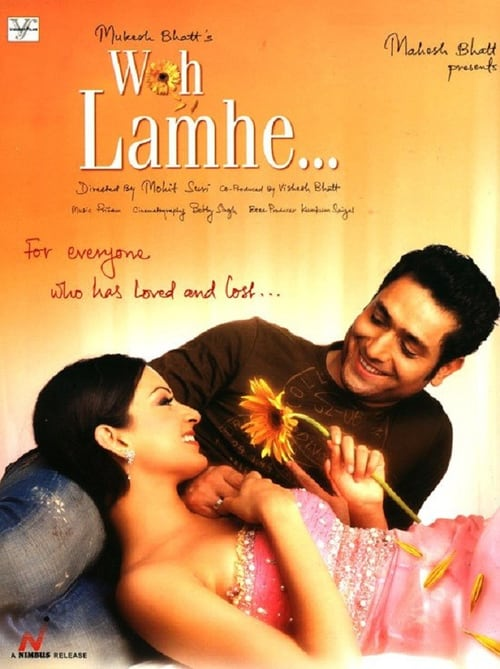 "Poster for the movie ""Woh Lamhe"""