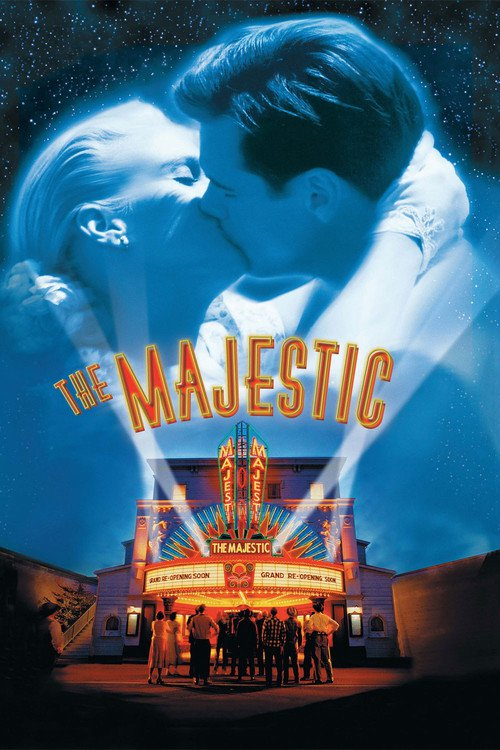 "Poster for the movie ""Cine Majestic"""