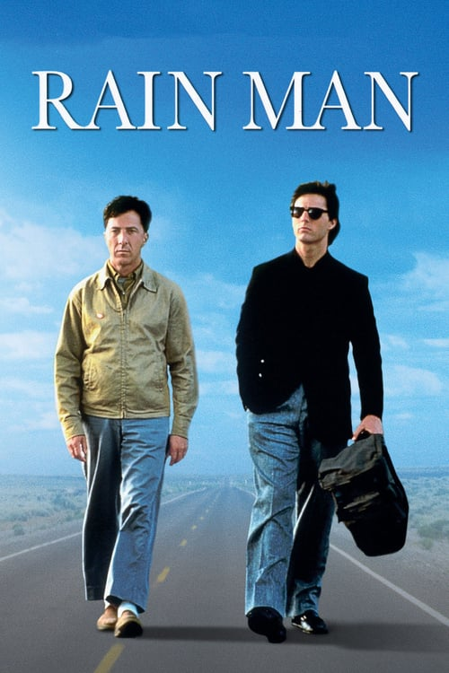 "Poster for the movie ""Rain Man"""