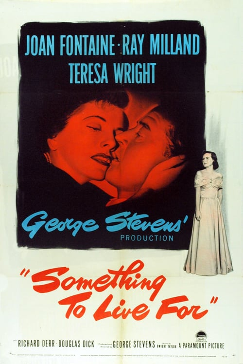 "Poster for the movie ""Something to Live For"""