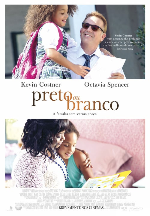 "Poster for the movie ""Preto ou Branco"""