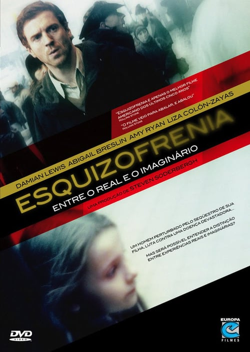 "Poster for the movie ""Esquizofrenia - Entre o Real e o Imaginario"""