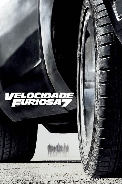 "Poster for the movie ""Velocidade Furiosa 7"""