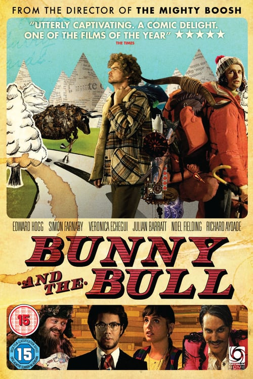 "Poster for the movie ""Bunny and the Bull"""