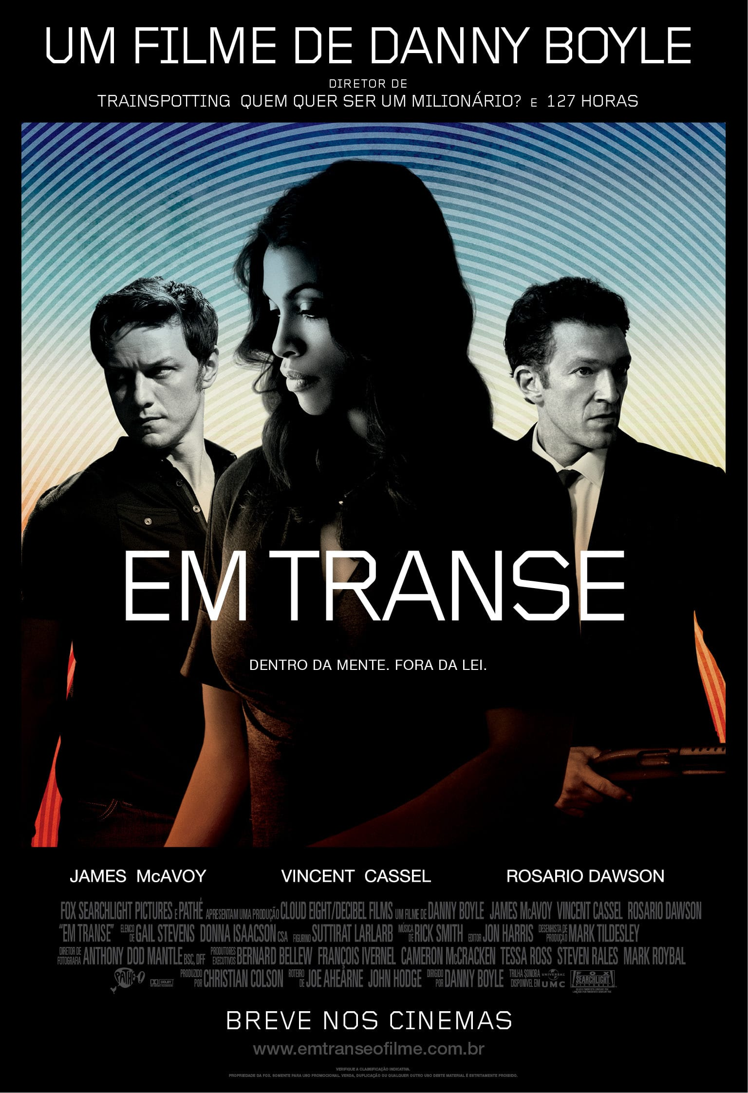 "Poster for the movie ""Em Transe"""