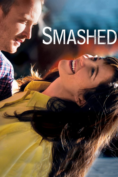 "Poster for the movie ""Smashed: De Volta à Realidade"""