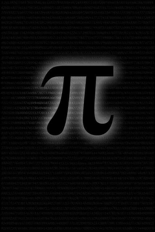 "Poster for the movie ""Pi"""