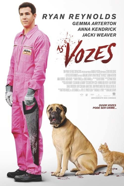 "Poster for the movie ""As Vozes"""