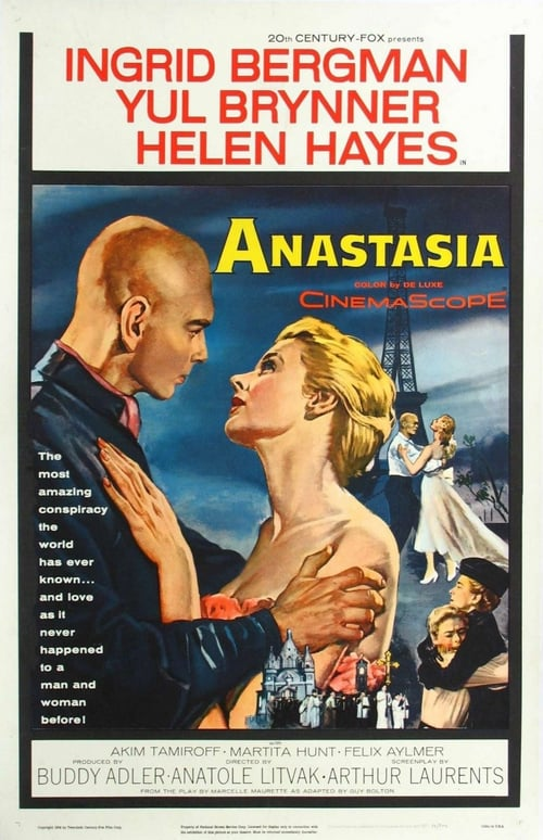 "Poster for the movie ""Anastásia"""