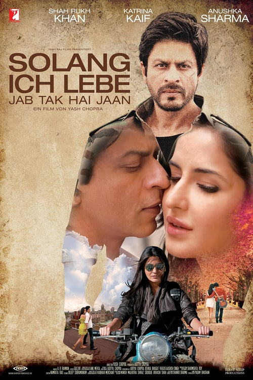 "Poster for the movie ""Jab Tak Hai Jaan"""