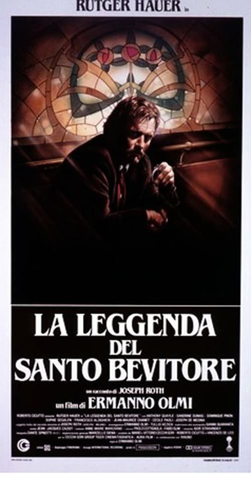 "Poster for the movie ""The Legend of the Holy Drinker"""